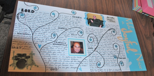 Christian Scrapbook page